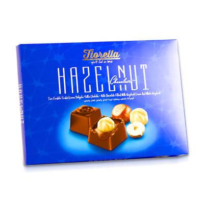 Fiorella Hazelnut Fındık Taneli Çikolata 270 Gr. (1 Kutu)