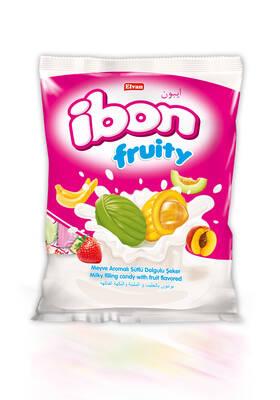 Ibon Sütlü Meyveli Şeker 1000 Gr. (1 Poşet)