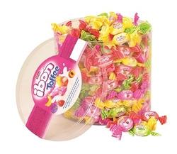 Elvan - Ibon Toffee Sütlü Meyveli Şeker 1000 Gr. Silindir (1 Kutu)