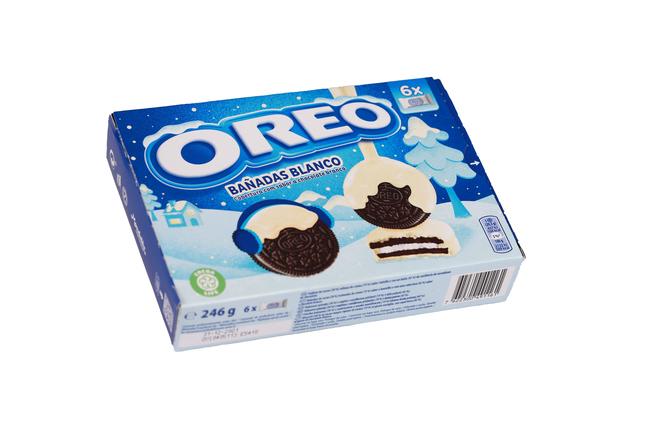 OREO - Oreo Sütlü Çikolata Kaplamalı Bisküvi 246 Gr. (1 Paket)