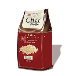 Elvan - Chef Prestige Fildişi Damla Konfiseri 1000 Gr. (1 Poşet)