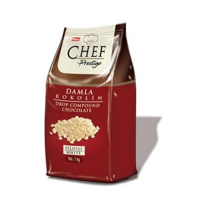 Chef Prestige Fildişi Damla Konfiseri 1000 Gr. (1 Poşet)