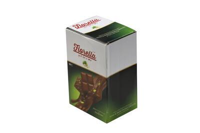 Fiorella Sütlü Çikolata Tablet Fıstıklı 80 Gr. 10'lu (1 Kutu)