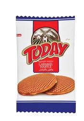 Elvan - Today Caramel Waffle 22 Gr. 24 Adet (1 Kutu)