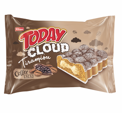 Elvan - Today Cloud Kek Tiramisulu 50 Gr. 24 Adet (1 Kutu)