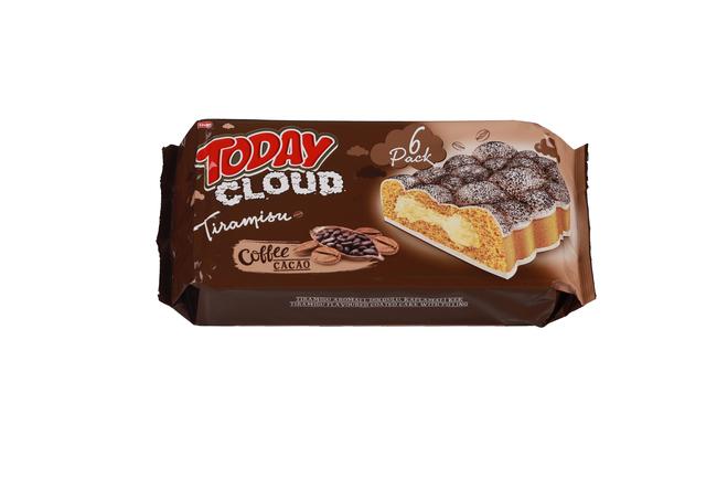 Elvan - Today Cloud Cake Tiramisulu 50Gr. 6'lı (1 Paket)