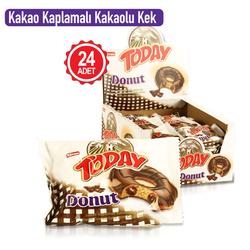 Today Donut Kek Kakaolu 50 Gr. 24 Adet (1 Kutu) - Thumbnail