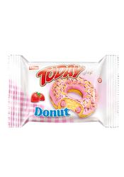Elvan - Today Donut Kek Çilekli 50 Gr. 24 Adet (1 Kutu)