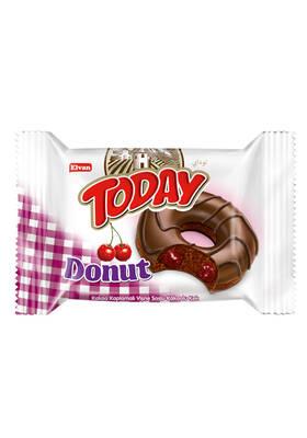 Today Donut Kek Vişneli 50Gr. 24 Adet (1 Kutu)