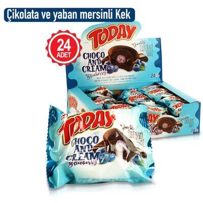 Today Double Choco And Cream Yabanmersinli 50 Gr. 24 Adet (1 Kutu)