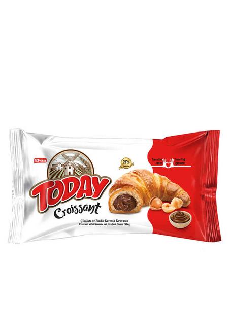Elvan - Today Kruvasan Çikolatalı 45Gr. 1 Adet