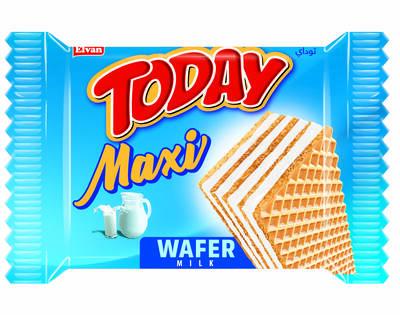 Today Maxi Sütlü Gofret 38 Gr. 24 Adet (1 Kutu)