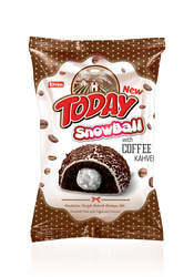Elvan - Today Snowball Kahveli Kek 45 Gr. 24 Adet (1 Kutu)