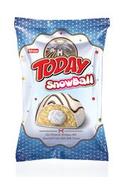 Elvan - Today Snowball Sütlü Kek 45 Gr. 24 Adet (1 Kutu)