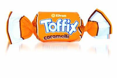 Toffix Caramelli Şeker 1000 Gr. (1 Poşet)