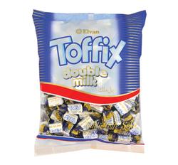 Elvan - Toffix Double Milk Sütlü Şeker 1000 Gr. (1 Poşet)