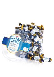 Elvan - Toffix Double Milk Sütlü Şeker 1000 Gr. Silindir (1 Kutu)
