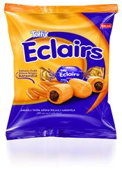 Elvan - Toffix Eclaırs Kakaolu Şeker 1000 Gr. (1 Poşet)