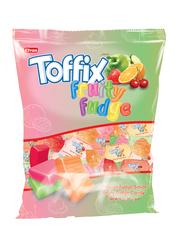 Elvan - Toffix Fudge Karamelli Şeker 1000 Gr. Silindir (1 Kutu)