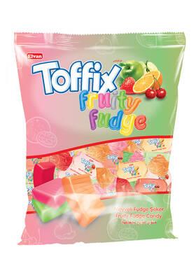 Toffix Fudge Meyveli Şeker 1000 Gr. (1 Poşet)