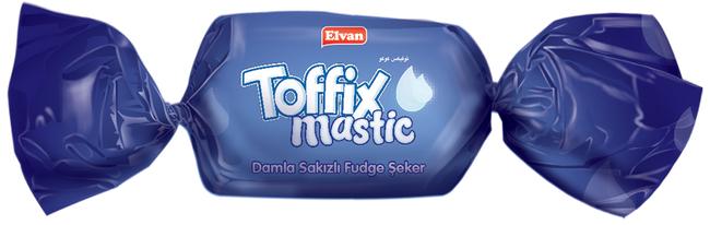 Elvan - Toffix Mastic Damla Sakızlı Şeker 1000 Gr. (1 Poşet)