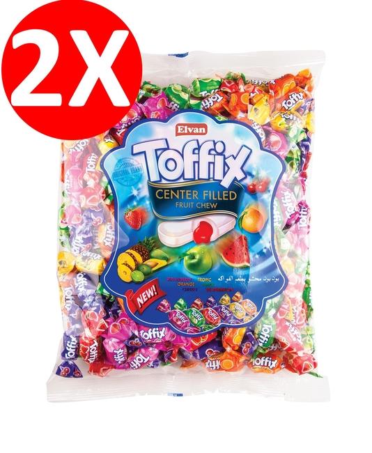 Elvan - Toffix Mix Şeker 300 Gr. 2 li Paket
