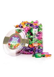 Elvan - Toffix Toffini Mix Şeker 1000 Gr. Silindir (1 Kutu)