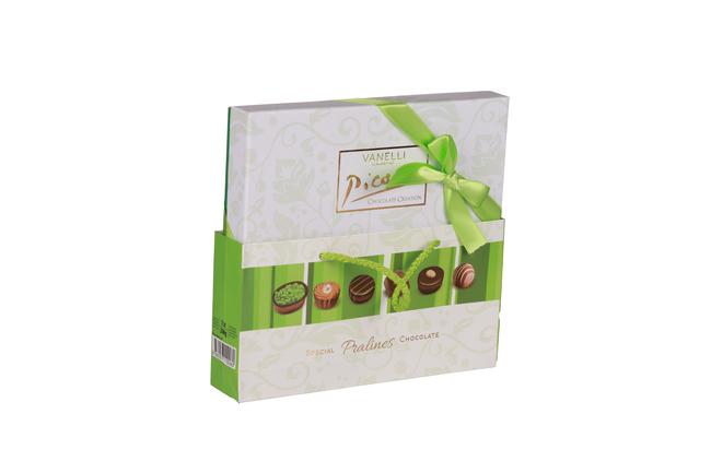 Vanelli - Vanelli Picasso Madlen Mix Çikolata 200 Gr. (1 Yeşil Kutu)