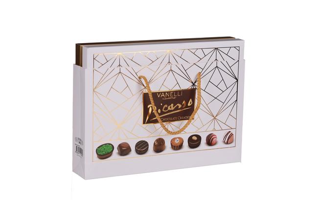 Vanelli - Vanelli Picasso Madlen Mix Çikolata 305 Gr. (1 Beyaz Kutu)