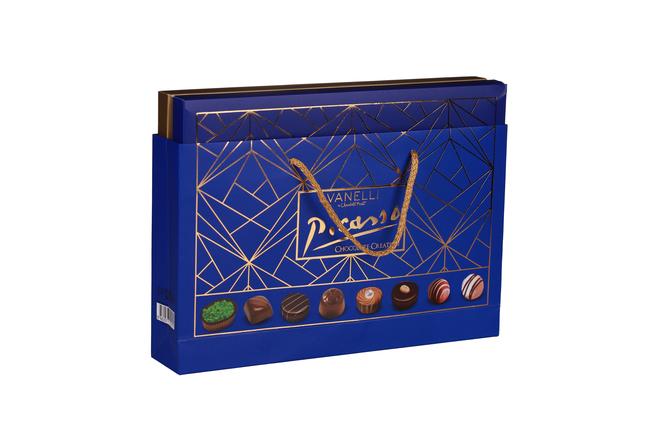 Vanelli - Vanelli Picasso Madlen Mix Çikolata 305 Gr. (1 Lacivert Kutu)