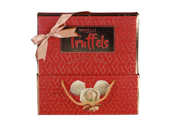 Vanelli - Vanelli Truffels Hindistan Cevizli Bademli Çikolata 210 Gr. (1 Kutu)